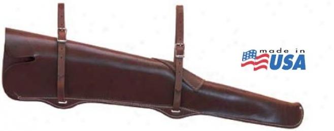 Weaver Heavy-duty Fleece-lined Gun Scabbard - Brown