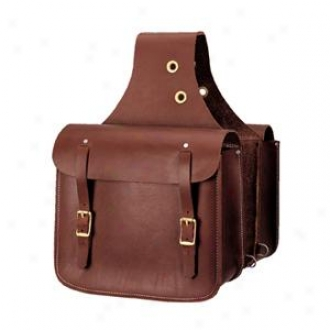Weaver Heavy-duty Leather Saddle Sack - Russet