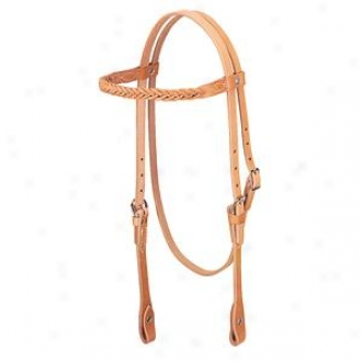 Weafer Horizons 5-plait Browband Headstall