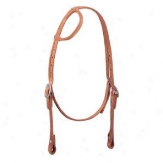 Weaver Protack Roled Sliding Ear Headstall - Horse