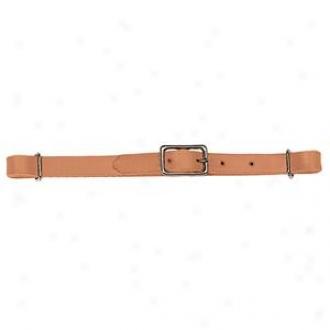 Weaver Prltack Stragiht Leather Curb Ligature - Russet - 5/8