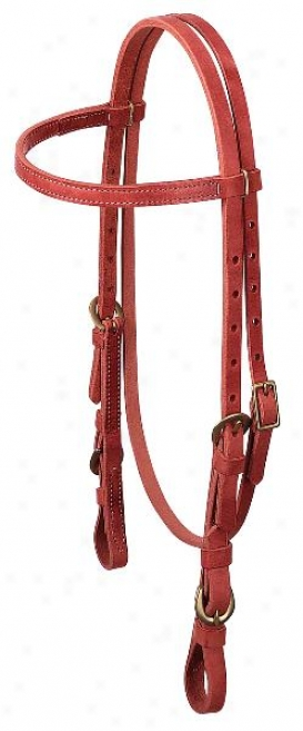 Weaver Quick Change Browband Headstall With Struggle Bit Ends - Coarse - Horse