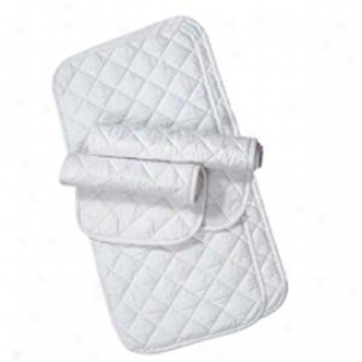 Weaver Quilted Leg Wraps - White - 14
