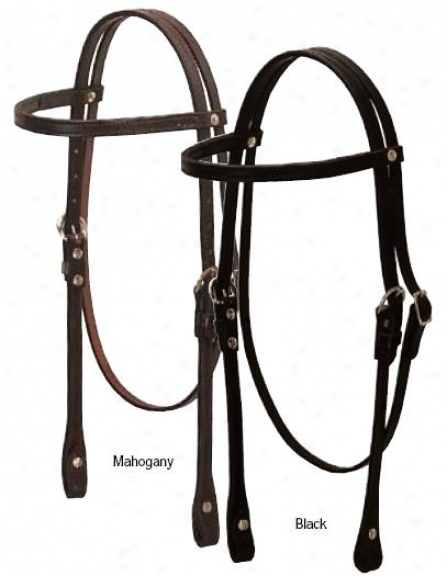 Weaver Show Browband Headstall