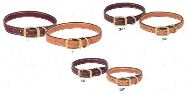 Weaver Triple Crown Leather Collar