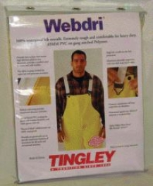 Webdri Overall - Yellow - Large