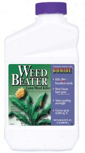 Weedbeatr Lawn Weed Killer Con - 1 Quart