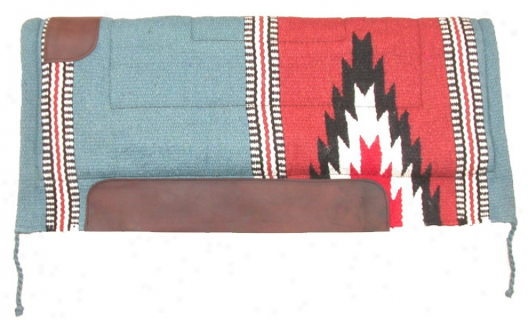 Western Cutter Style Saddle Pad - Assorted Colors