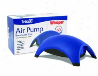 Whisper Air Pump For Aquariums - Blue