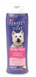 White Pearl Shampoo And oCnditioner - White - 16oz