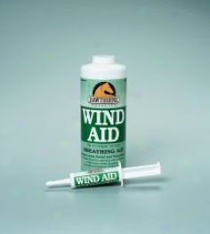 Wind Aid Solution For Equine Throat Health Care - 1oz