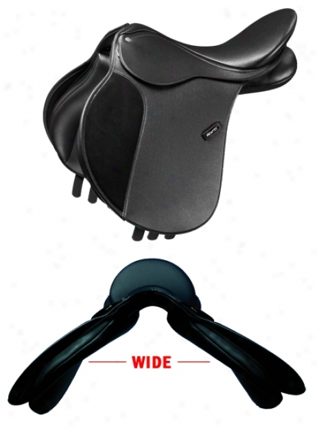 Wintec Spacious All-purpose Saddle With Cair - Brown - 17 Wide