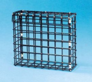 Wire Feeder For Large Seed/suet Cages For Birds - Black - Large