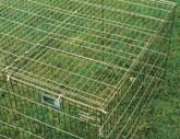 Wiremesh Top For Exercise Pen - Gold - 4x4 Foot