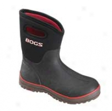 Womens Waterproof Mid Boot - Black - 6