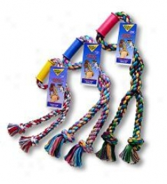 Wonder Rope Tug Dog Toy - Multicolor - Small