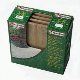 Wooden Garden Tile - Brown