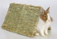 Woven Hinged Grass Mat - Green