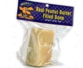 Wowsers Filled Bone - Peanut Butter - 2-3 Inch