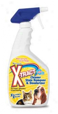 X-tract Deodorizing Cleaner - 32 Ounces