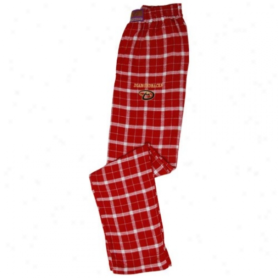Arizona Diamondbacks Brick Crossover Flannel Pajama Pants