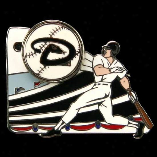 Arizona Diamondbacks Gear: Arizona Diamondbacks Home Run Pin