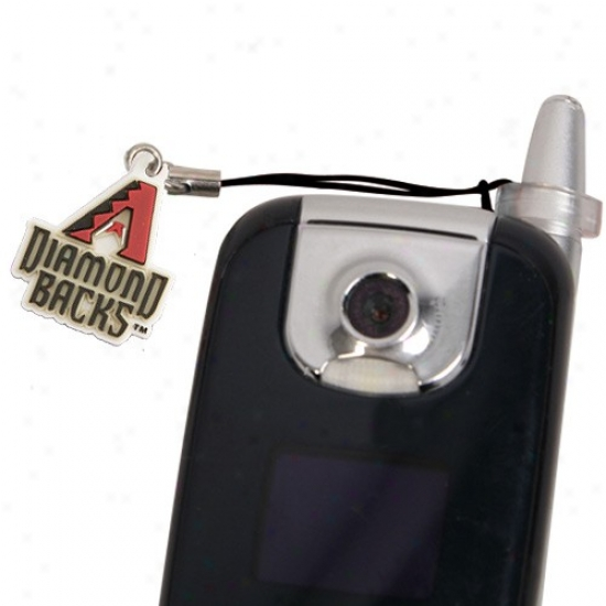 Arizona Diakondbacks Hanging Cell Phone Antenna Charm