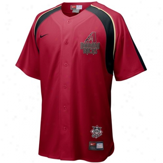 Arizona Diamondbacks Jersey : Nike Arizona Doamondbacks Crimson Home Plate Jersey