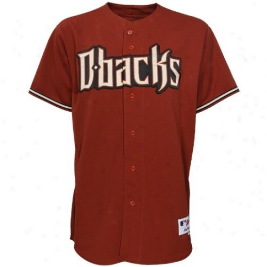 Arizona Diamondbacks Jerseys : Majestic Arizzona Diamondbacks Brick Authentic Baseball Jerseys