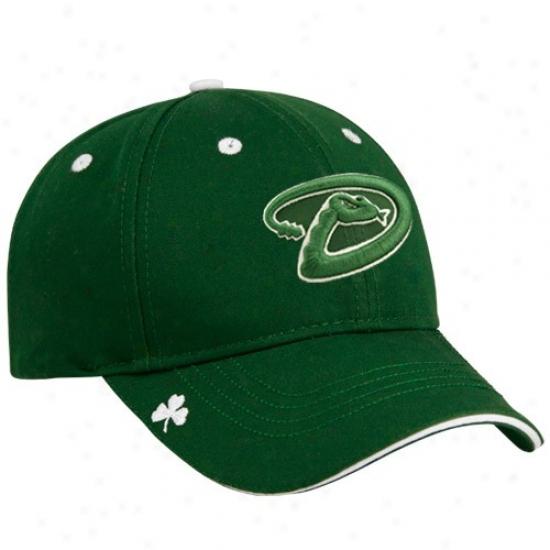 Arizona Diamondbacks Merchandise: New Era Arizona Diamondbacks Green Hooley St. Patrick's Day Adjustable Hat