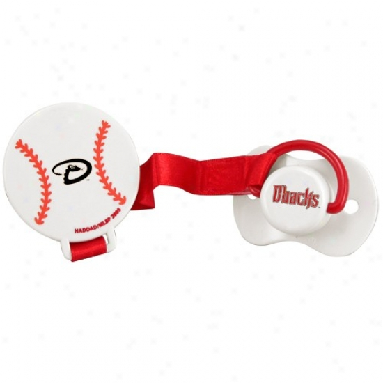 Arizona Diamondbacks Pacifier With Clip