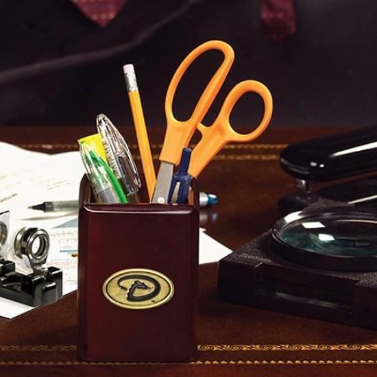 Arizona Diamondbacks Wooden Pencil/accessories Cup