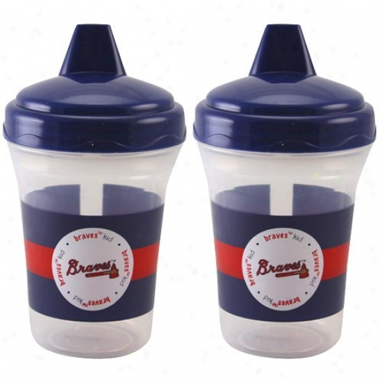 Atlanta Braves 2-pack Sippy Cups