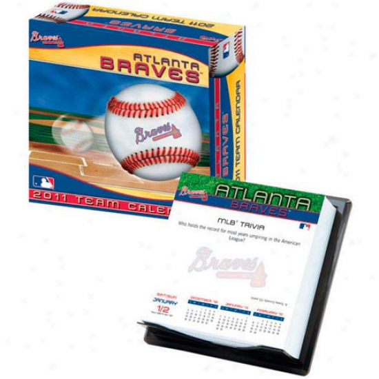 Atlanta Braves 2011 Boxed Calendar