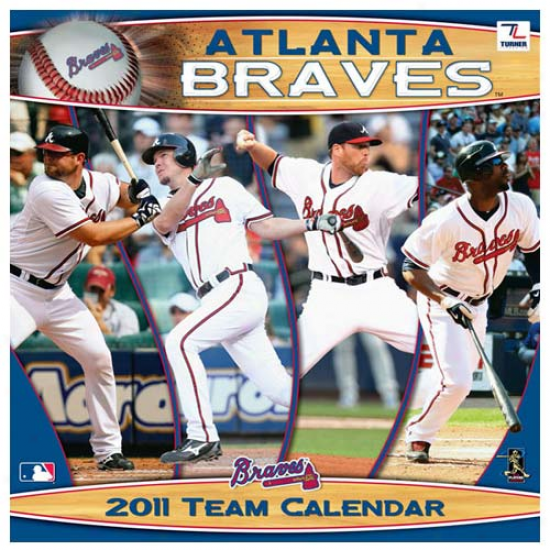 Atlanta Braves 2011 Wall Calendar