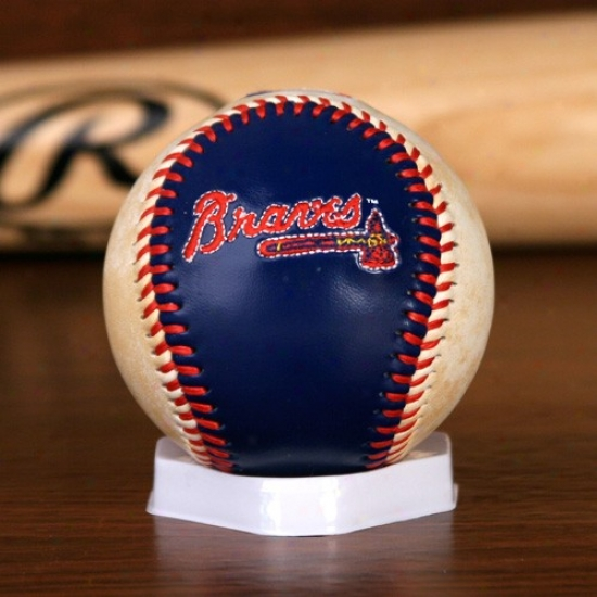 Atlanta Braves Embroidered Team Logo Collectible Baseball