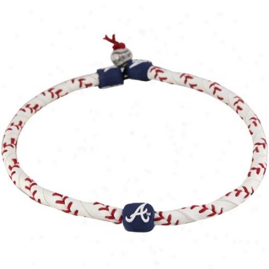 Atlanta Braves Frozen Rope Baseball Neckalce