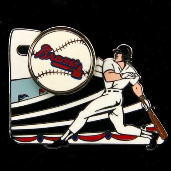 Atlanta Braves Gear: Atlanta Braves Home Run Pin
