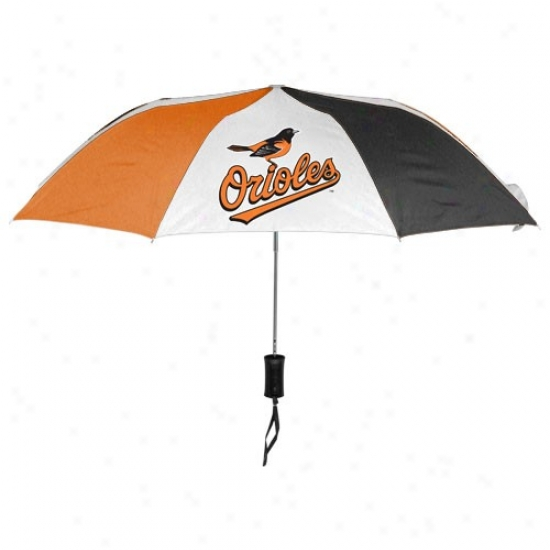 Baltimore Orioles 68'' Folding Umbrella
