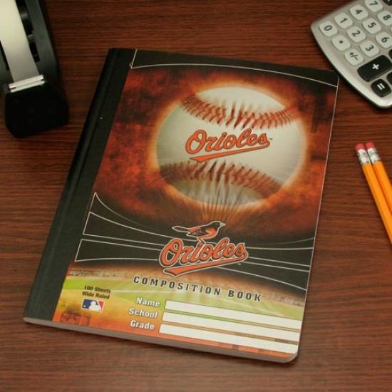 Baltimore Orioles Composition Book