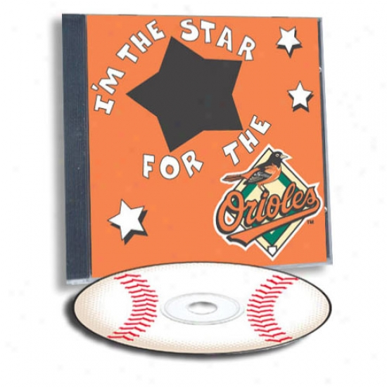 Baltimore Orioles Game Hero Custom Sports Cd