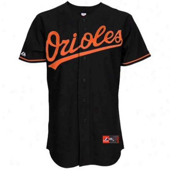 Baltimore Orioles Jerrsey : Majestic Baltimore Orioles Replica Jersey-black
