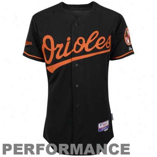 Baltimore Orioles Jersey : Majestic Baltimore Orioles On-field Cool Base Performance Jersey-black