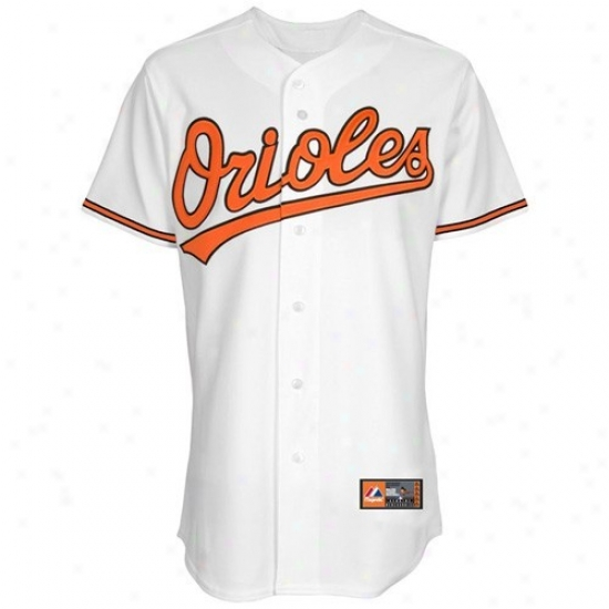 Baltimore Orioles Jerseys : Majestic Baltimore Orioles Youth White Replica Baseball Jerseys