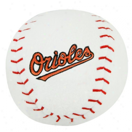 Baltimore Orioles Plush Team Baseball