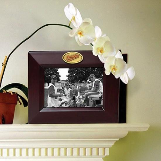 Baltimore Orioles Wooden Frame & Photo Album