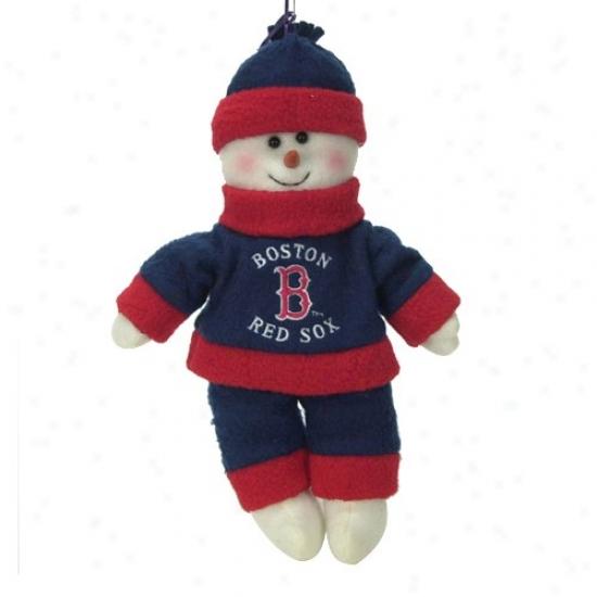 Boston Red Sox 10-inch Snowflake Friend Plush