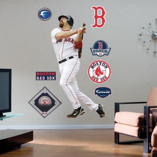 Boston Red oSx #20 Kevin Youkilis Idler Fathead
