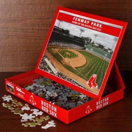 Boston Red Sox 500-piece Stadium Puzzle