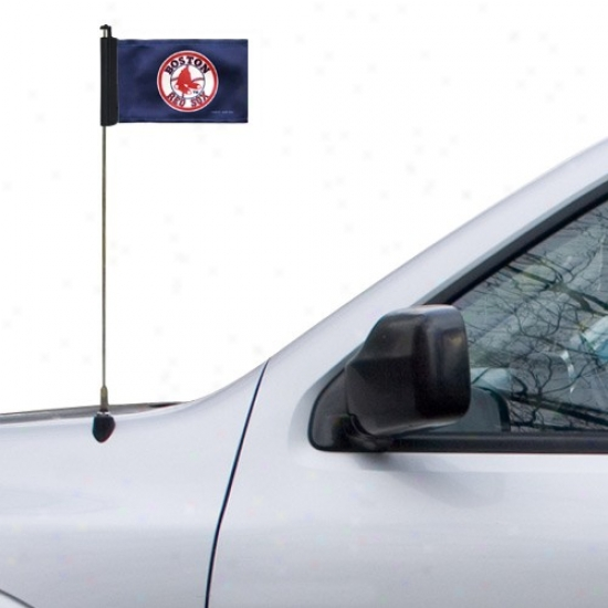 Boston Red Sox Banner : Boston Red Sox Navy Blue Antenna Banner